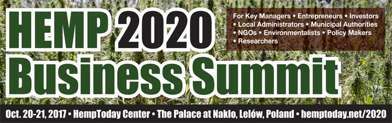 Hemp 2020 Business Summit, Poland